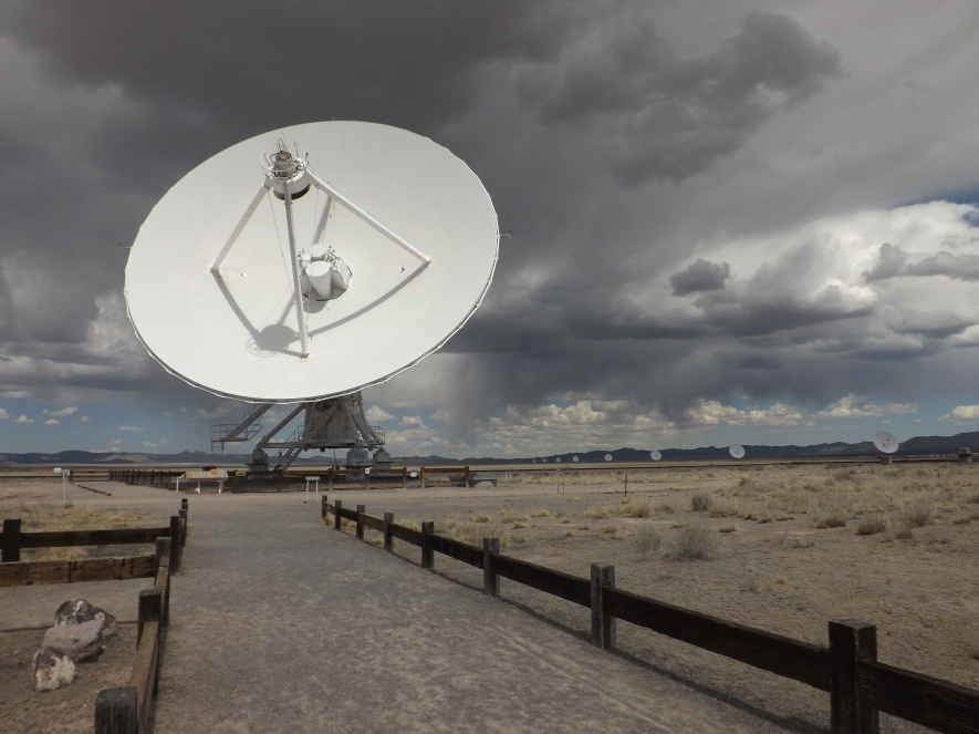 At the Very Large Array in New Mexico.